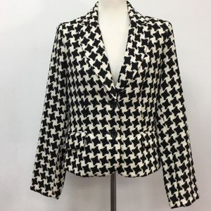 George ME by Mark Eisen Houndstooth Lined